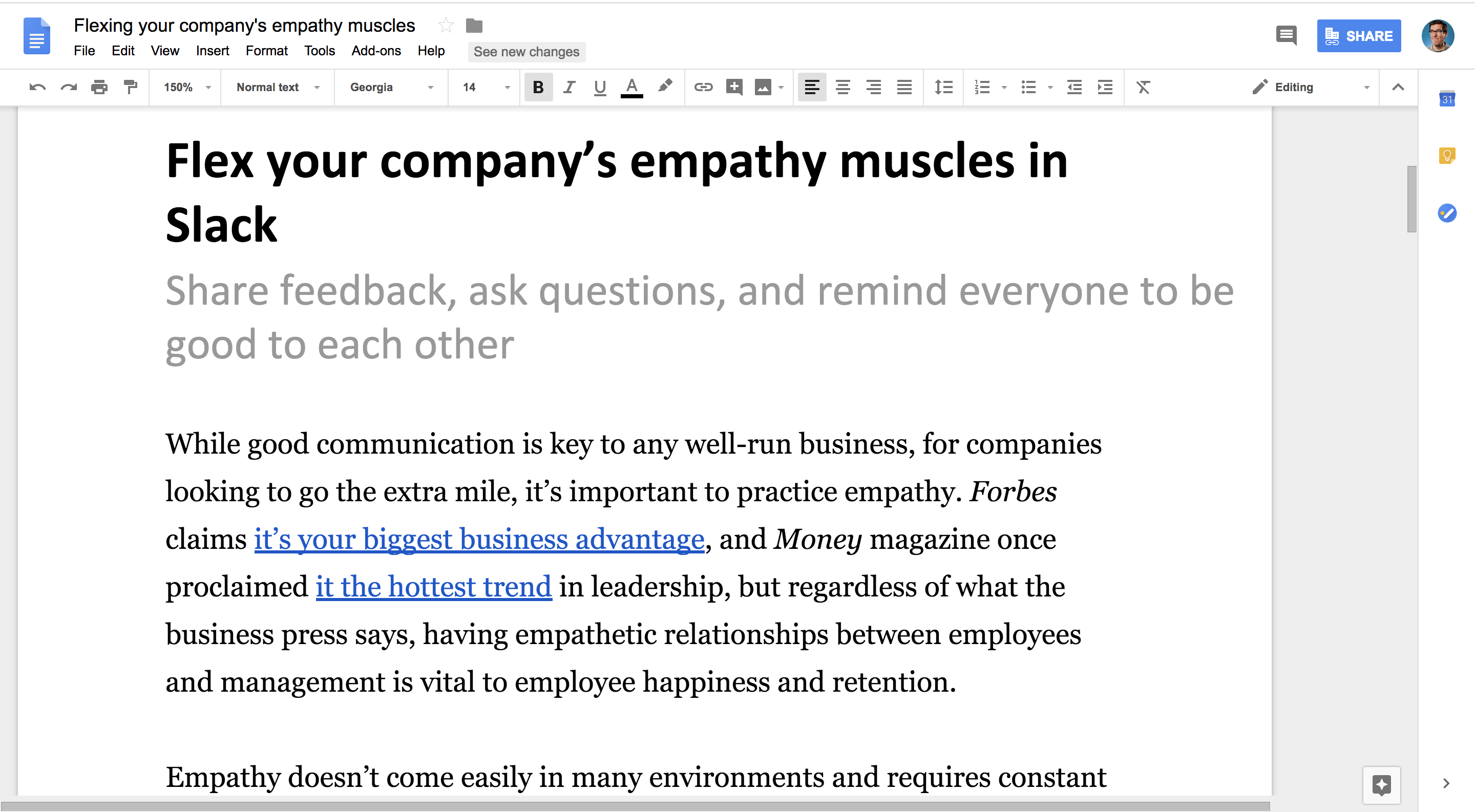 how to change all of one word in google docs